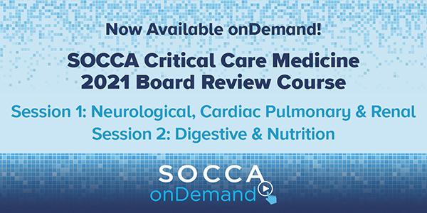 SOCCA Board Review Recordings