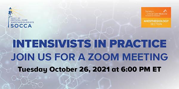 October 26 Zoom Meeting