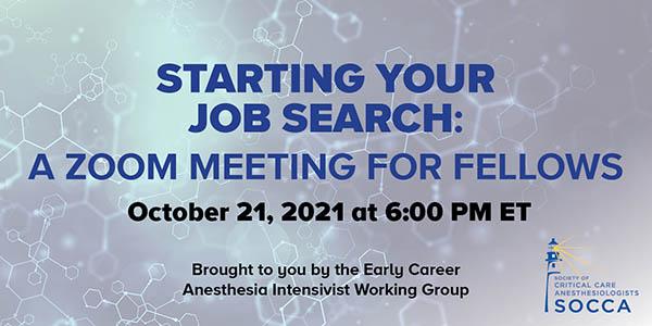October 21 Zoom Meeting
